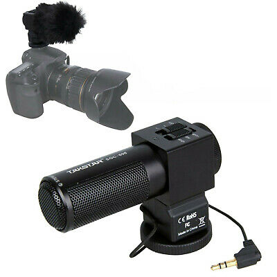 Takstar SGC 698 Photography Interview On-Camera Recording Microphone DSLR Camera