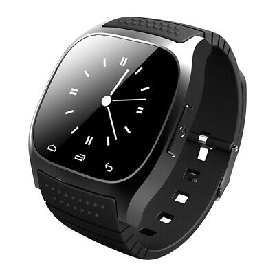 New M26 Bluetooth Smart Watch Wrist Waterproof For Android Samsung iPhone iOS