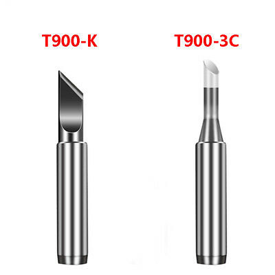 936 Welder Solder Soldering Iron Tips T900-3C T900-K 900M Series Welding Head