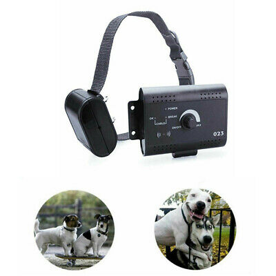 Dog Collar Containment System Electric Shock Boundary Control Fence For 1/2