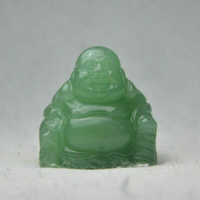 Natural jade green dongling jade Buddha Statues Figurines & Statues