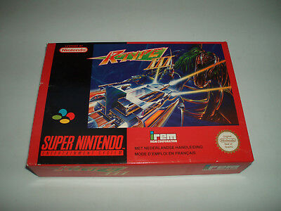 R-Type Iii Snes Super Nintendo Pal Complete Boxed New!!!