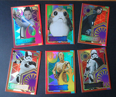 Topps Star Wars The Last Jedi  Ltd Cards