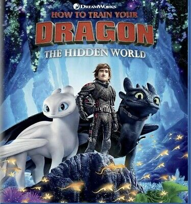How To Train Your Dragon The Hidden World(Blu-Ray+Digital)W/Slipcover