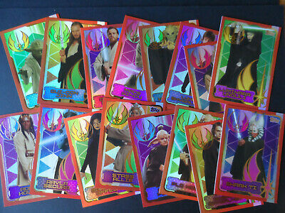 Topps  Star Wars The Last Jedi Foil Cards (Choose Your Card)
