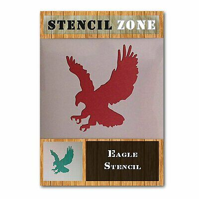 Eagle Bird Hunting Animal Mylar Airbrush Painting Wall Art Stencil (A1 Size...