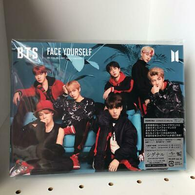 LIKE New BTS FACE YOURSELF Type A CD Blu-ray Booklet Sticker