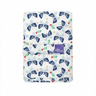 Changing Mat Bambino Mio Folding Baby Home Travel Machine Washable Butterfly