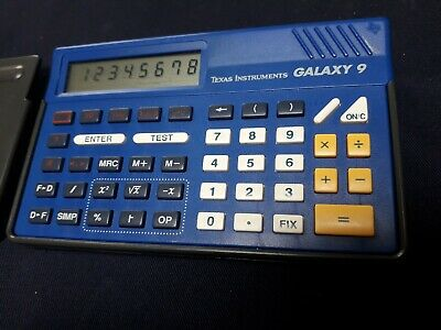 Calculatrice Texas Instruments GALAXY 9