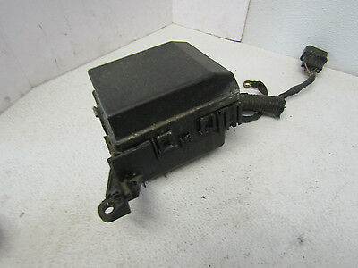02-03 03 mitsubishi lancer under hood fuse box block