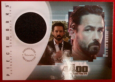 THE 4400 - Season Two - BILLY CAMPBELL as JORDAN COLLIER - Costume Card - 2007