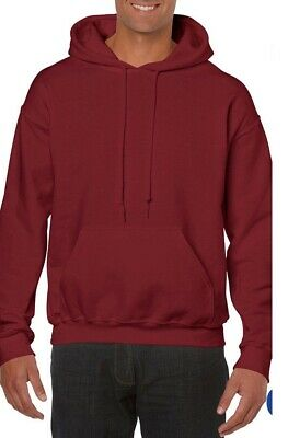 GILDAN HEAVYWEIGHT Plain Hooded Sweatshirt Hoodie