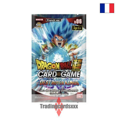 ♦Dragon Ball Super Card Game♦ Booster Serie 6 : Destroyer Kings - VF/B06