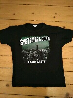 System of a down Girlie Shirt Schwarz Gr.M Toxicity