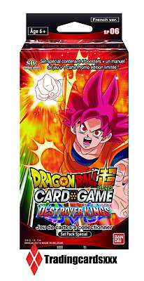 ♦Dragon Ball Super Card Game♦ Set Pack Spécial Série 6 : Destroyer Kings - VF