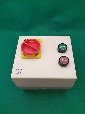 MTE DOL Starter With Isolator 110 vac Coil  1.1 - 1.6  Amp Overload