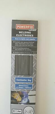 Arc welding electrodes 1 kg approx. 86 rods 2.0mm x 300mm