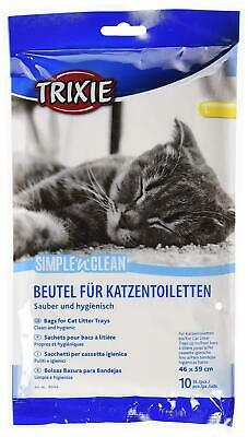 Clean & Hygienic Cat Litter Tray Bags, 46 x 59 - 10 in Pack by Trixie