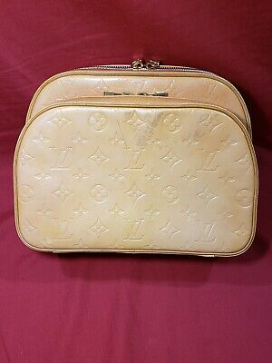 LOUIS VUITTON Vernis Murray Light Yellow Backpack LV Authentic.