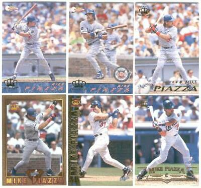 Mike Piazza #318 1994 Pacific-Embossed Vancouver 4-98