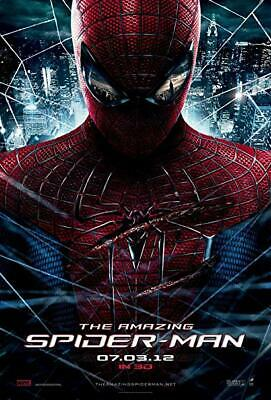 THE AMAZING SPIDER-MAN 27x40 Movie Poster - Original In-Theater 1/S Glossy
