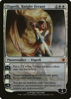 Elspeth Knight-Errant FOIL Modern Masters NM-M White Mythic Rare CARD ABUGames