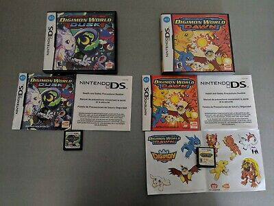 DIGIMON WORLD DUSK/DAWN/CHAMPIONSHIP Game Card For DS NDS