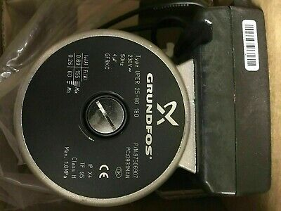 GRUNDFOS UPER 25-80 (180) P/N 97506907 Light Commercial Circulator PUMP 230V