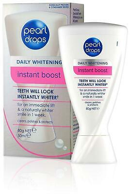 Pearl Drops INSTANT BOOST Optical Whitening Effect Polish & Protect Toothpaste
