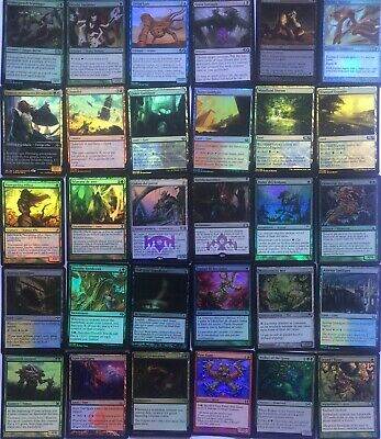 magic the gathering (MTG) lote1000 Cartas Raras, Foils, Infrecuentes, Tierras...