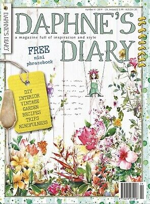 DAPHNE'S DIARY Magazine 2019: Number 4 With Free Mini Phrase Book - New