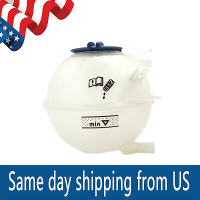 NEW VOLKSWAGEN Radiator Overflow Expansion Tank APA//URO PARTS 1H0 121 407A