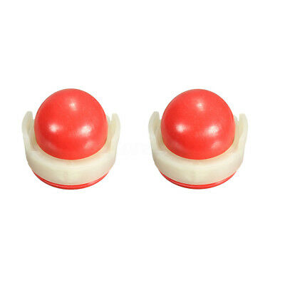 2x Red Carburettor Oil Primer Bulb Pump Cup For Briggs & Stratton 694394,