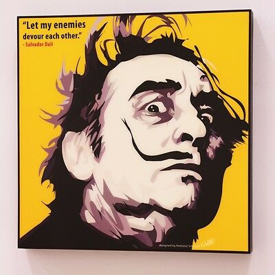 Salvador Dali canvas Quotes wall decals photo painting framed Pop Art poster #2