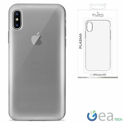 Puro Plasma Cover for Apple IPHONE XR Case Flexible Silicone