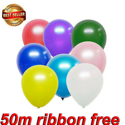 "10//100 Pearly Party Balloons Decoration Wedding Birthday Occasions 10/"" Inch"