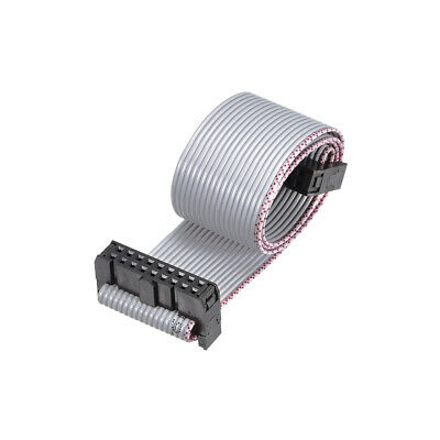 IDC Wire Flat Ribbon Cable FC/FC Connector A-type 18Pins 2.54mm Pitch 30cm Long