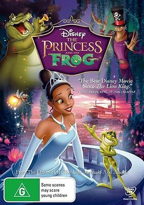Disney's The Princess An D The Frog Dvd=Region 4 Aust Release=New And Sealed