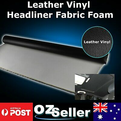 Customized Micro Leather Upholstery Vinyl Headliner Car Sag Damage Restore 3.8Ms