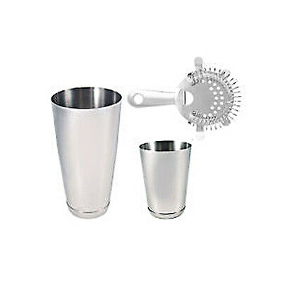 Equipment Bartender Bartender Shaker 3 Pieces Kit Inox Kit Barman