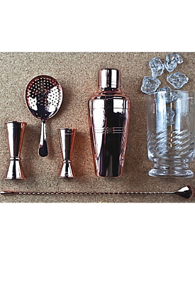 Kit Barman Copper Colour Baron Shaker 01