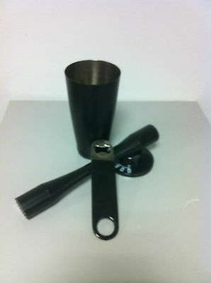 Barman Set Black Boston Pestle Mojito Cover Barman Bartender Tools