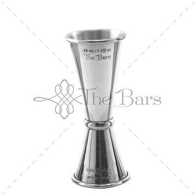 Jigger Measuring Stainless Barman 30ml-45ml J011
