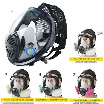 6800 Gas Mask Masks Full Facepiece Respirator For Painting Spraying Chemistry