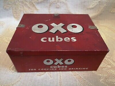 Large Vintage Oxo Cubes Tin