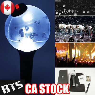CA NEW BTS KPOP ARMY Bomb Light Stick Ver.3 Bangtan Boy Concert Lamp Lightstick
