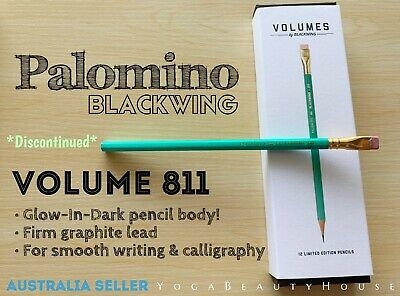 *Discontinued Palomino Blackwing GLOW-IN-DARK Volume 811 1pc Graphite Pencil Vol