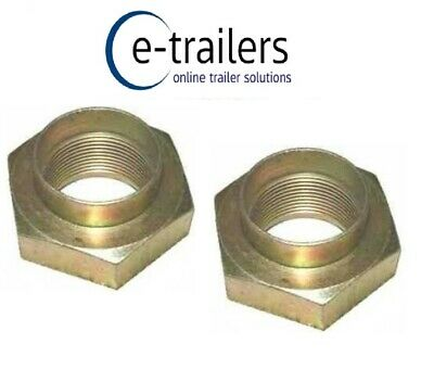 Hub Nut with M30 Without Shoulder for Ifor Williams Trailer Brake Drums