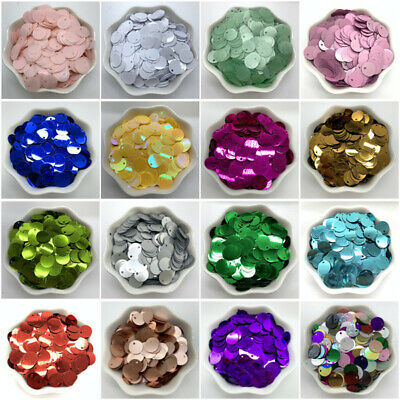 400pcs 10mm PVC Flat Round Loose Sequins Paillettes sewing DIY Pendant Sequin