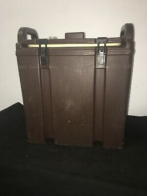 Cambro Brown Insulated Soup/Beverage Carrier 350LCD 3.3/8 Gallon Capacity. #12